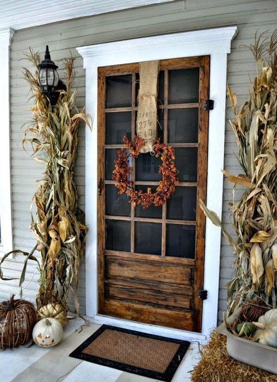 décoration extérieure automne