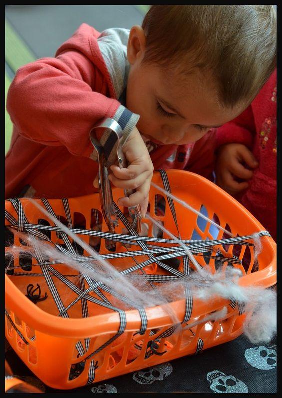 activité d'Halloween pour les enfants