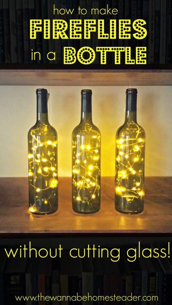 comment décorer des bouteilles de vin