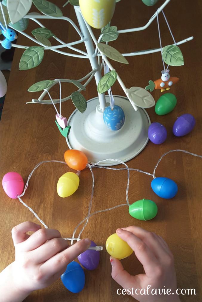 idée de décoration de pâques