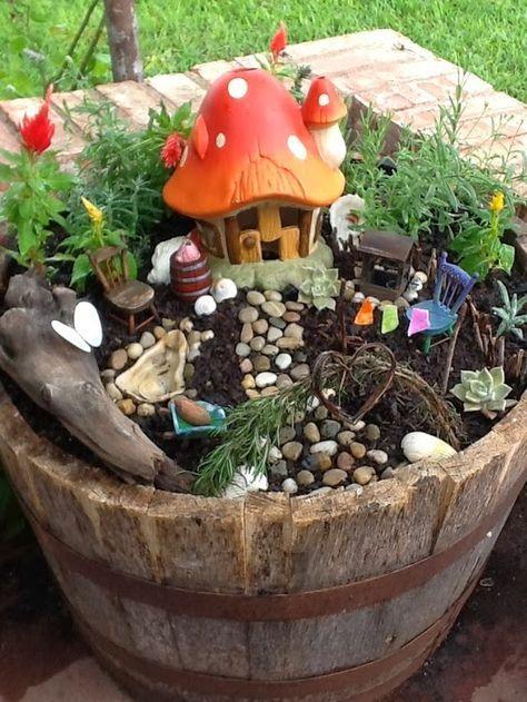 jardin pour les petits
