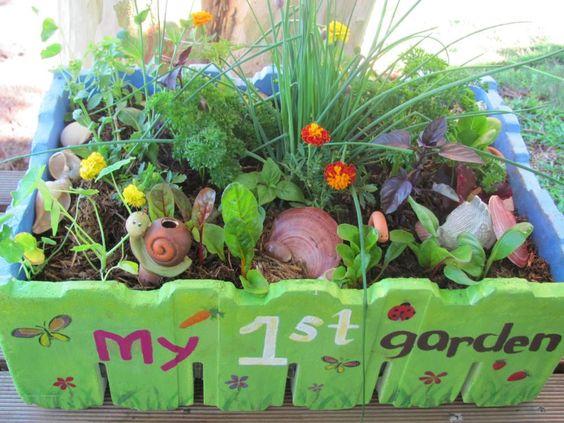 aménagement d'un jardin pour enfant