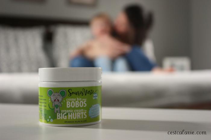 les produits souris verte