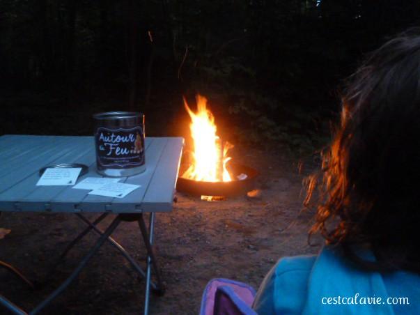 jeux pour feu de camp