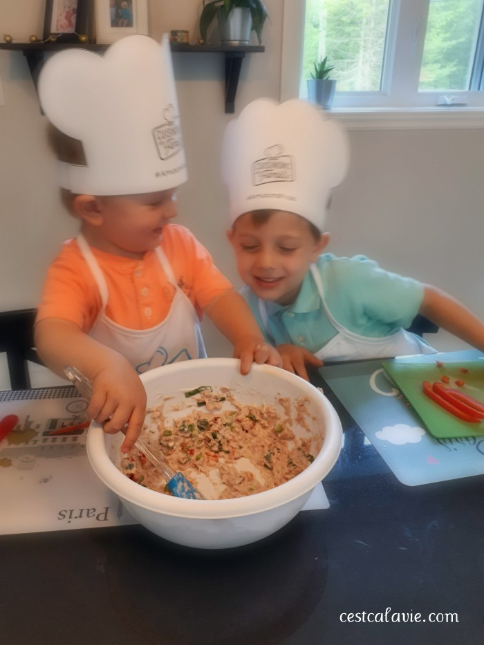 trucs pour cuisiner avec des enfants