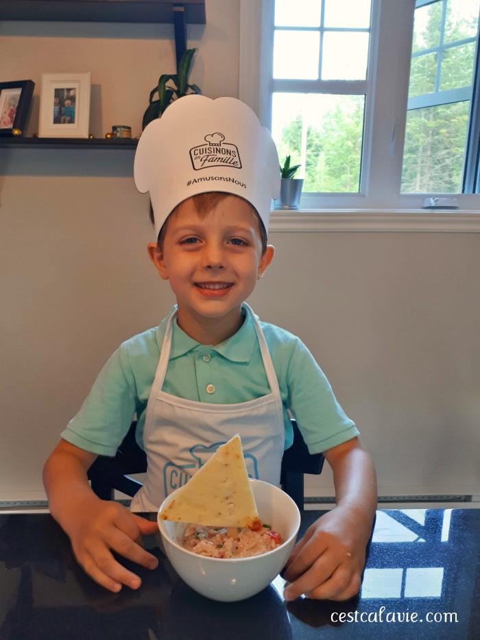 trucs pour cuisiner avec enfant